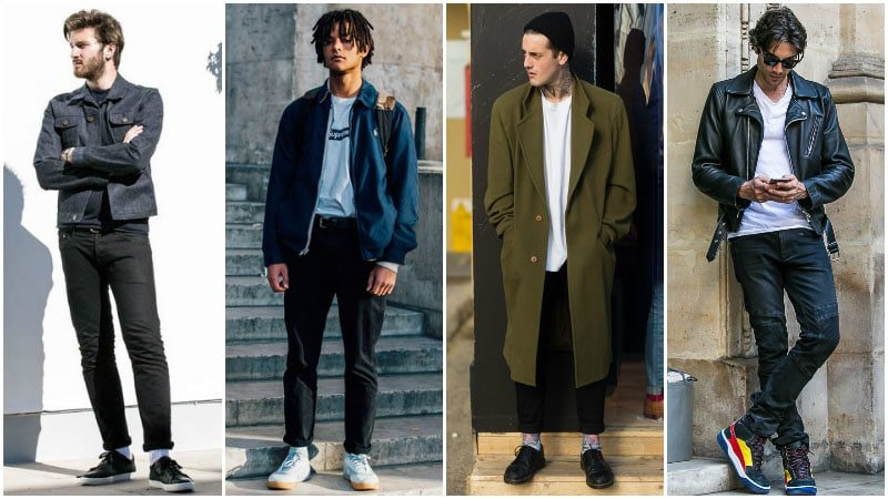 What to Wear with Black Jeans (Men's Style Guide) - The Trend Spott