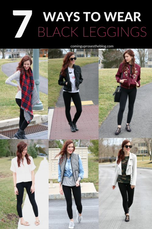 What to Wear with Leggings: 7 Ideas | Fashion | Coming Up Roses .