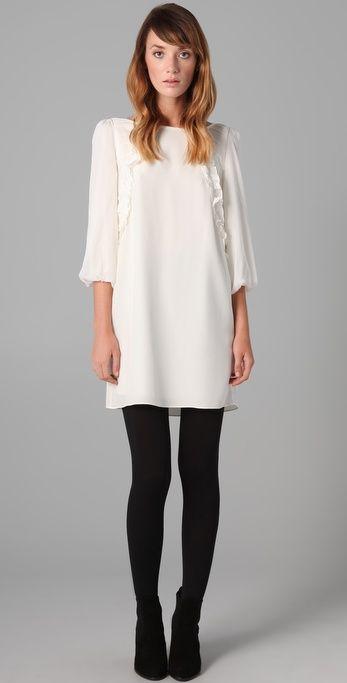 Shopbop.com Designer Women's Fashion Brands   Cream dress outfit .