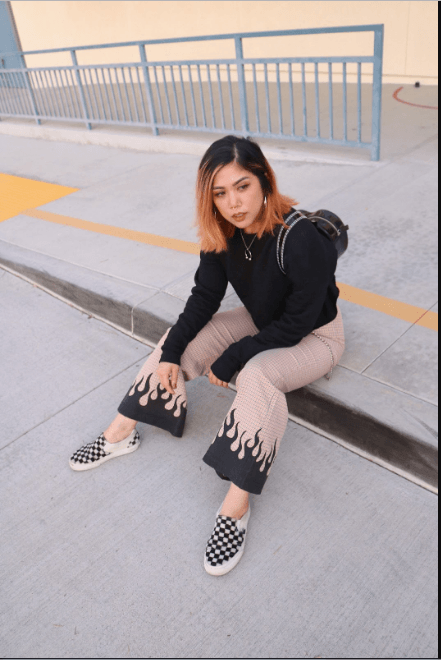 Outfits with Checkered Vans–30 Ways to Wear Checkerboard Va