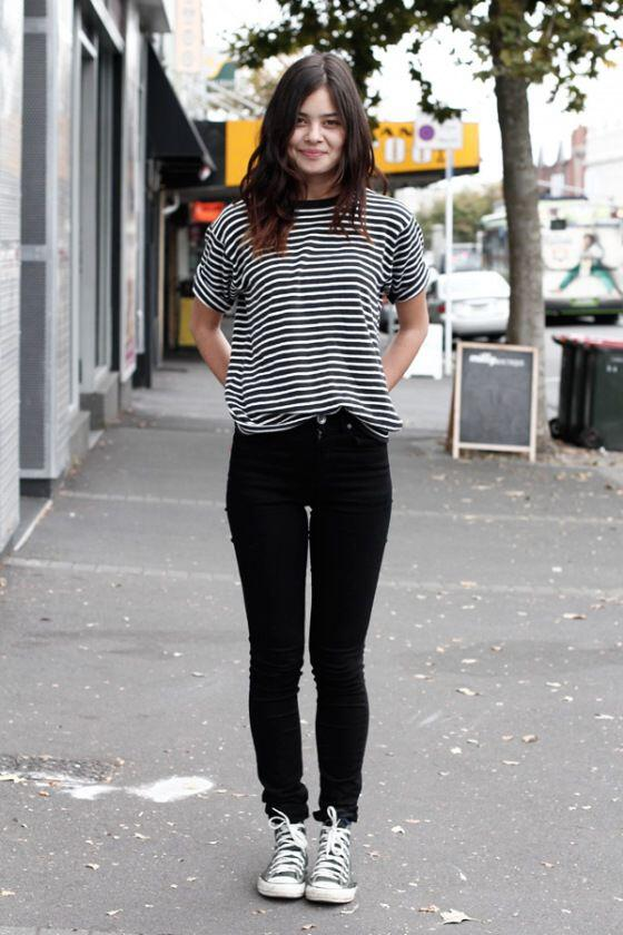11 casual fall outfits with converse shoes - Page 11 of 11 .