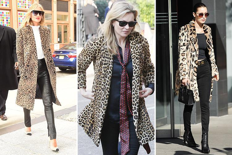 How to wear a leopard-print coat: the bold outwear trend that .