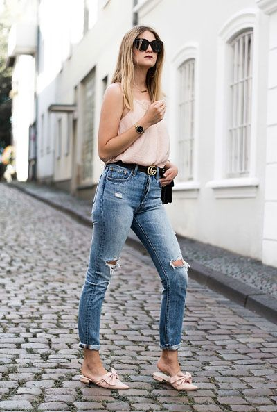 How to Wear Mules Shoes This Summer - 30 Outfit Ideas | 30 outfits .