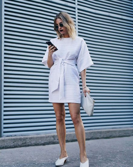How to Wear Mules Shoes This Summer - 30 Outfit Ide