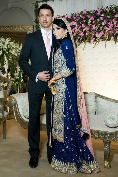 Pakistani couple | Indian bridal outfits, Pakistani bridal dresses .
