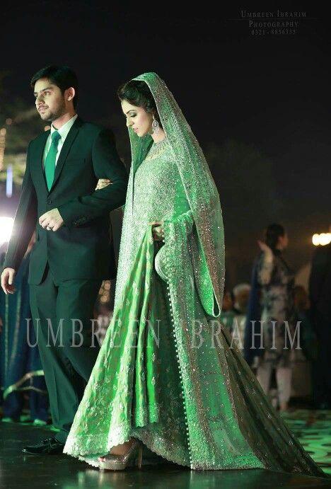 pakistani #couple | Beautiful bridal dresses, Bridal outfits .