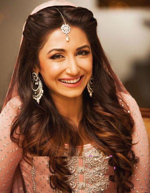 Pakistani Wedding Hairstyles For Long Hair - Top Pakistan | Indian .