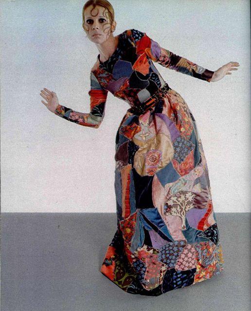 YSL patchwork dress 1969 | Fashion, Patchwork dress, Fashion histo