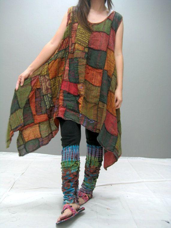 MANE patchwork dress (LIMITED EDITION) 167.2. $45.00, via Etsy .