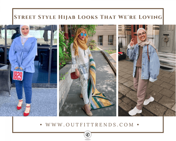 20 Popular Hijab Street Style Fashion Ideas For This Seas