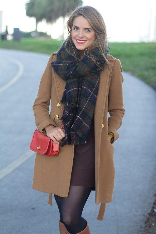 Preppy Winter Outfits-15 Cute Winter Preppy Dressing Ideas .