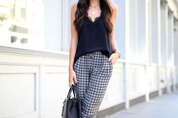 Patterned Pants: 20 Outfit Inspiration Photos | StyleCast