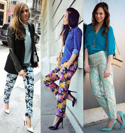 5 Ways to Wear Printed Pants - The Budget Babe | Affordable .