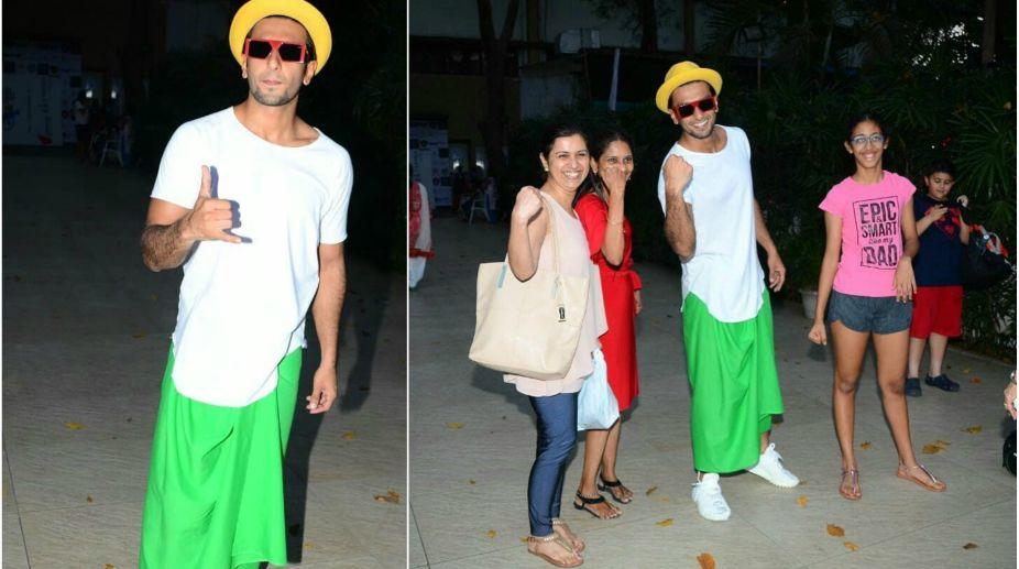 Real men wear a skirt: Ranveer Singh's brave style statement in .