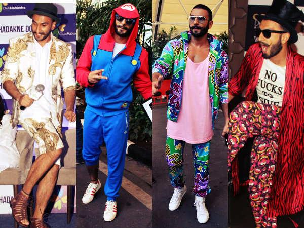 Social Humour: Ranveer Singh's wacky fashion sense has Twitter in .