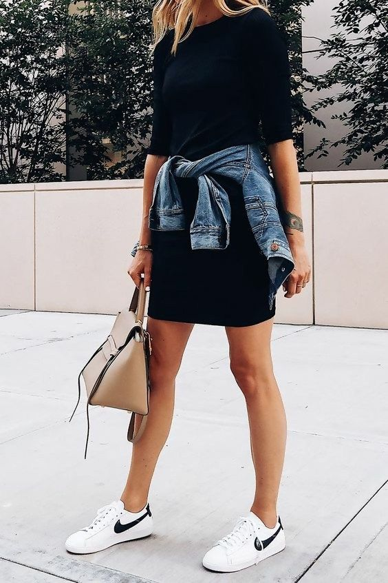 6 T-Shirt Dress Outfit Ideas You Should Try Right Now | Denim .