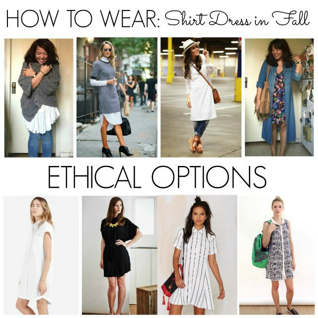 Transition #2: Shirt Dress Outfits for Fall - Made-To-Travel.c