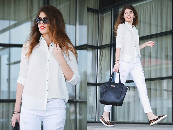 White Shirt Outfits-18 Ways To Wear White Shirts For Gir