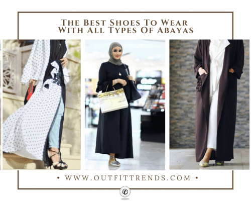 Shoes with Abaya - 21 Best Footwear that Goes with Aba