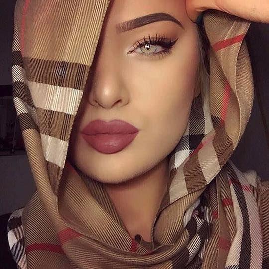 Simple Makeup with Hijab Tutorial and Hijab Makeup Tips | Hijab .