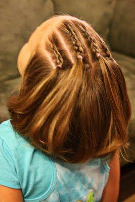 Girly Do's By Jenn: Idea's For Short Hair--- #1 | Girl hairstyles .
