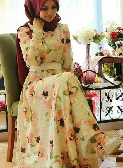 20 Spring Hijab Fashion Style Ideas For Beautiful Look in 2020 .