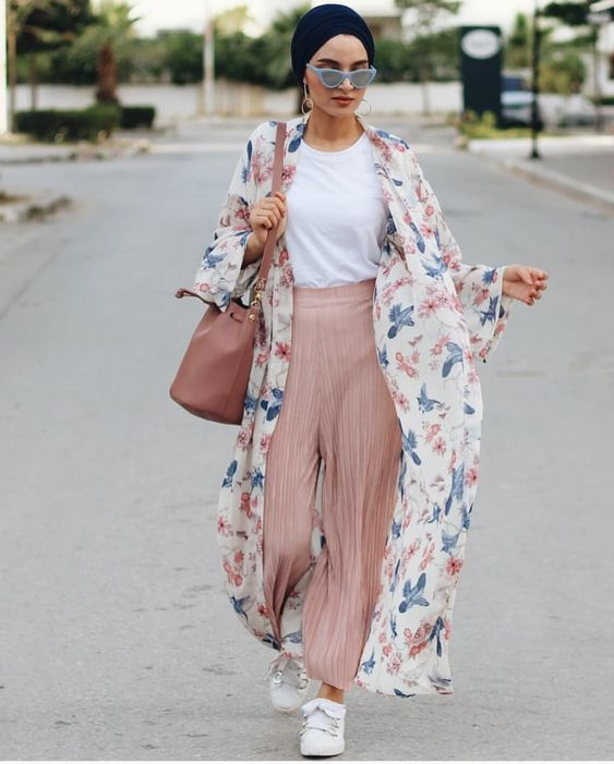 2019 Spring Hijab Outfit Ideas That Anyone Can follow | Modest .