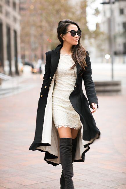 Cozy Cozy :: Oversized scarf & Long coat - Wendy's Lookbook .