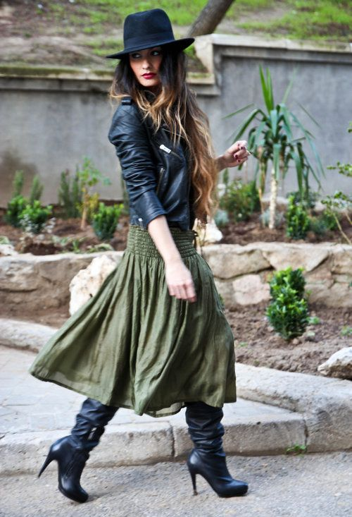 Style Guide: How to wear Maxi Skirt in winter | Fashion, Style .