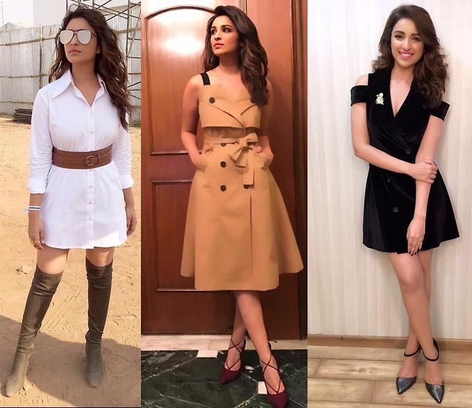Slide 8 -From chubby to glam, Parineeti Chopra's style .