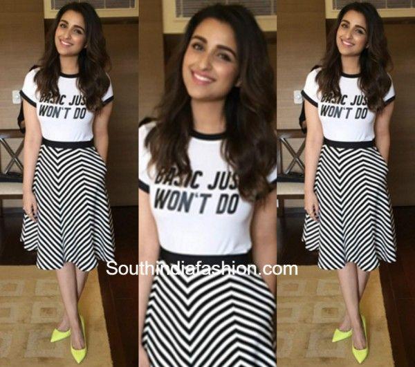 Parineeti Chopra in HM & Madison – South India Fashion   Fashion .