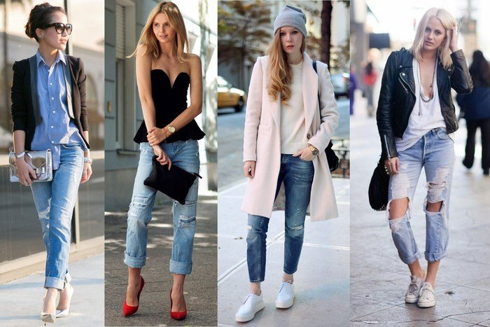 30 Stylish Shoes to Wear With Boyfriend Jeans For Chic Look .