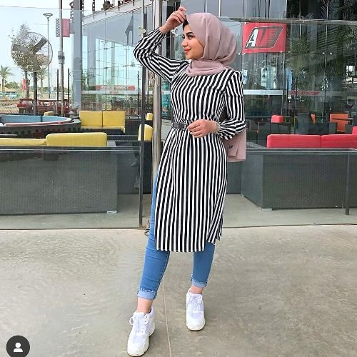 Colorful hijabi outfit ideas for summer | Hijab fashion summer .
