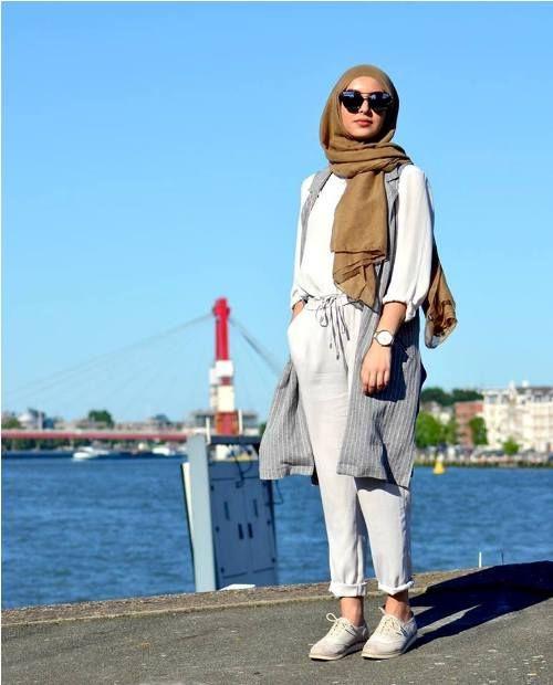 Stylish and versatile summer hijab outfits | Hijab fashion, Hijab .