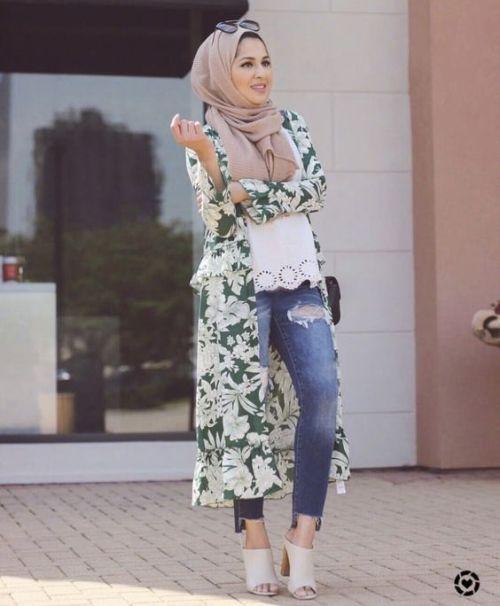 Hijab style summer 2018 | Summer dress outfits, Hijab fashion .
