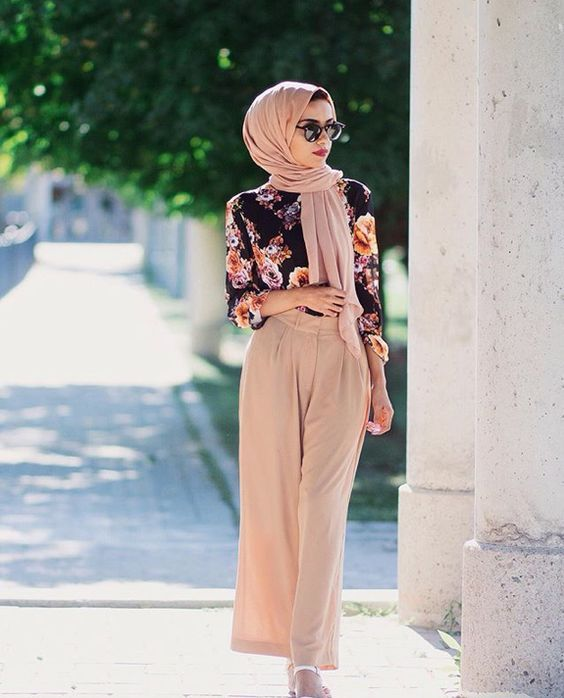 Spring / Summer outfit featuring a hijab | Muslim fashion, Hijab .
