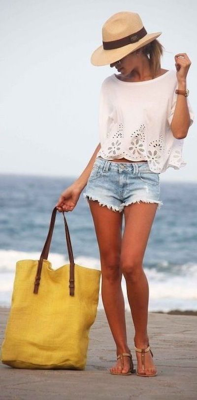 25 Summer Beach Outfits 2020 – Beach Outfit Ideas for Women in .