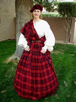 There's something about Scottish clothing that seems to invoke a .