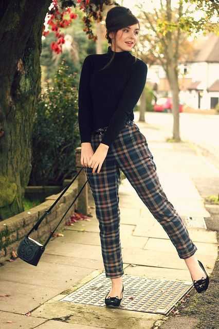 Can't see these trousers ever working on me, but I love the style .
