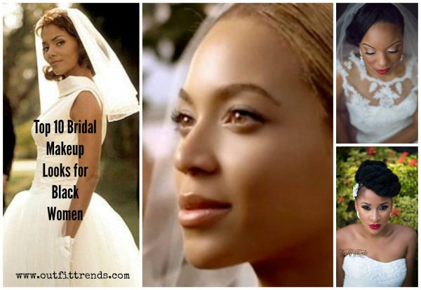 Top 10 Bridal Makeup Ideas For Black Women for Stunning Lo