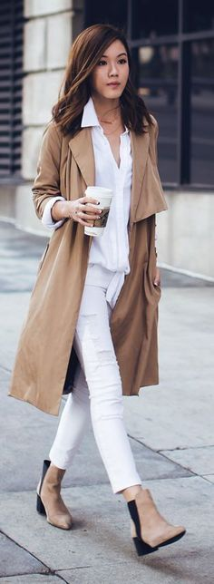 100+ Trench Coat Outfits ideas | trench coat outfit, coat, trench co