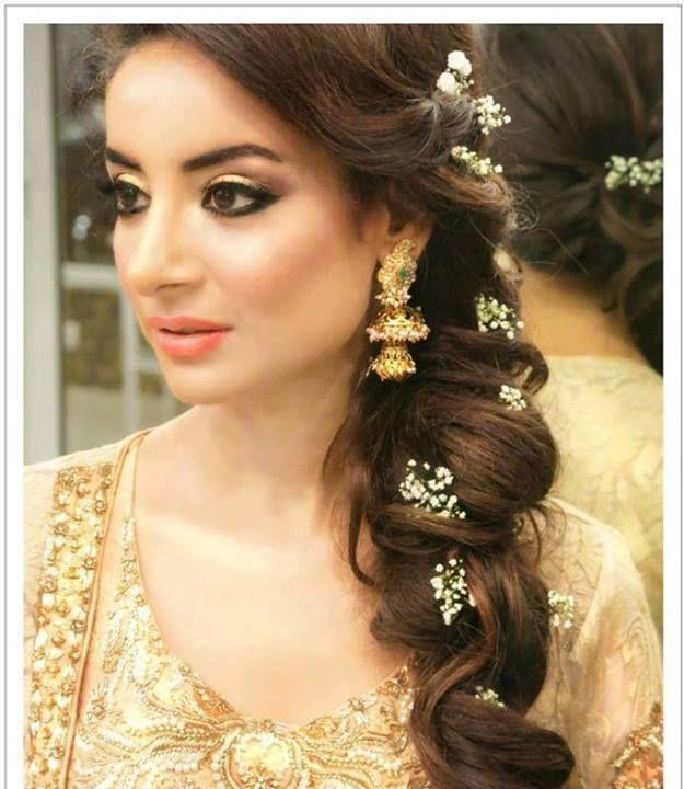 Pakistani Bride | Pakistani wedding hairstyles, Indian wedding .