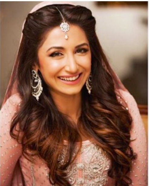 25 Trending Hairstyles For Walima Functions In 2020 | Long hair .