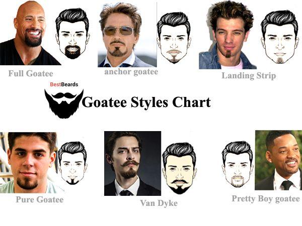 6 Types Of Goatee Beard Styles | Goatee styles, Goatee beard .