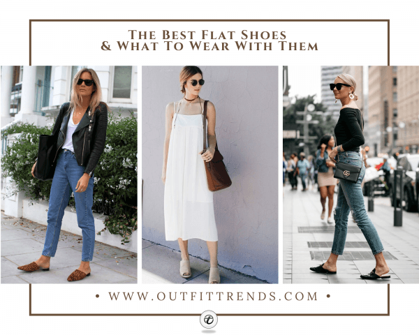 28 Types Of Summer Flat Shoes & Outfits To Wear With Fla