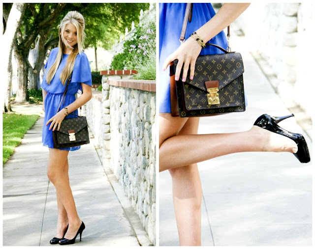 What Color Shoes To Wear With Blue Dress | StylesWardrobe.c
