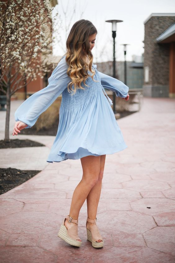 What color shoes to wear with blue dress, 30 best outfits .
