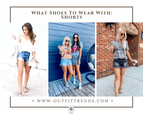 What Shoes to Wear With Shorts? 20 Best Shoes for Girls | Shoes .