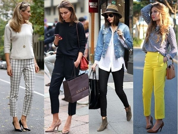 Best Shoes to Wear with Cropped Pants | Cropped pants, Womens .