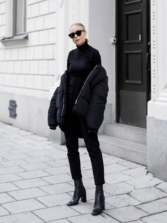 All Black Outfit Ideas to Copy This Week | STYLE REPORT MAGAZINE .